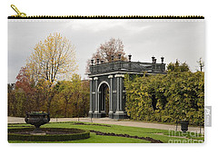 Carry-all Pouch featuring the photograph  Garden Gate Schonbrunn Palace Vienna Austria by Imran Ahmed
