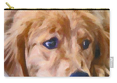 Golden Retriever Dog Carry-all Pouch