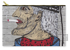Carry-all Pouch featuring the painting  Coal Man Joe by Jeffrey Koss