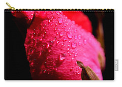 Carry-all Pouch featuring the photograph  La Rose by Michelle Meenawong