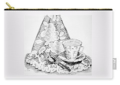 Lace With Cup Carry-all Pouch