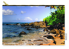 Laniakea Beach Carry-all Pouch by Kelly Wade