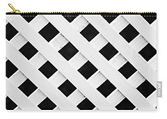Lattice Fence Pattern Carry-all Pouch