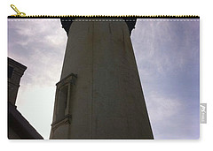 Carry-all Pouch featuring the photograph  Light House Sky by Susan Garren