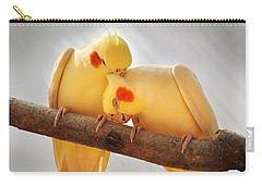 Love Birds Carry-all Pouch