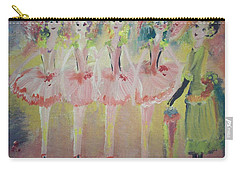 Madams Quadrille Ballet  Carry-all Pouch by Judith Desrosiers