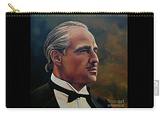 Golden Globe Award Paintings Carry-All Pouches