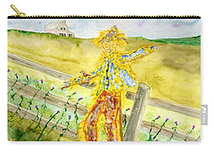 Napping Scarecrow Carry-all Pouch