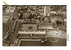 Neptune Beach Olympic Size Swimming Pool And A Roller Coaster Alameda Circa 1920 Carry-all Pouch