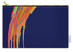 Carry-all Pouch featuring the digital art  Night Phoenix by Stephanie Grant
