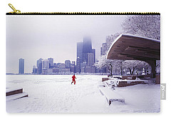 North Ave Beach Chess Palv Chicago Lake Front  Carry-all Pouch