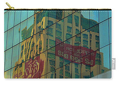Carry-all Pouch featuring the photograph  Office For Sale by Michelle Meenawong