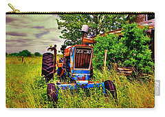 Old Ford Tractor Carry-all Pouch by Savannah Gibbs