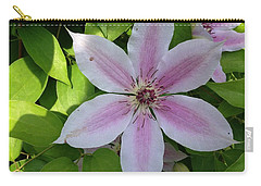 Pink Clematis  Carry-all Pouch