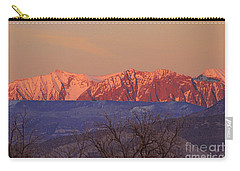 Radiant Ragged Mountain Evening Co II Carry-all Pouch