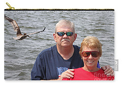Carry-all Pouch featuring the photograph  Real Peeps by Tbone Oliver