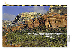 Red Rock-secret Mountain Wilderness Carry-all Pouch