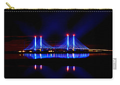 Reflecting Bridge - Indian River Inlet Bridge Carry-all Pouch