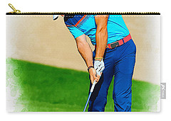 Rory Mcilroy Plays His Second Shot On The Par 4 Carry-all Pouch