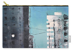 Carry-all Pouch featuring the painting  Rotterdam by Maja Sokolowska