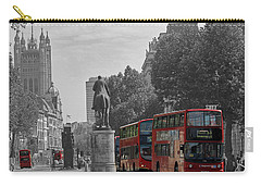 Routemaster London Buses Carry-all Pouch by Tony Murtagh
