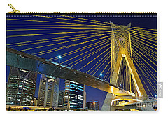 Sao Paulo's Iconic Cable-stayed Bridge  Carry-all Pouch