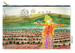 Scarecrow With Nesting Companion Carry-all Pouch