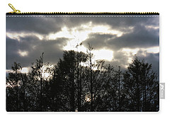 Silhouettes Toward Sunset Carry-all Pouch