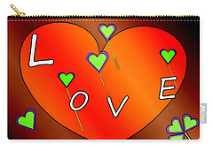 Simple  Love  Heart  - 505  Carry-all Pouch