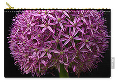Single Purple Allium Carry-all Pouch