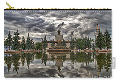 Stone Flower Moscow Carry-all Pouch by Stelios Kleanthous