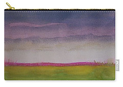 Sunset In Prairie Carry-all Pouch