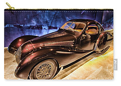 Carry-all Pouch featuring the photograph  Talbot Lago 1937 Car Automobile Hdr Vehicle  by Paul Fearn