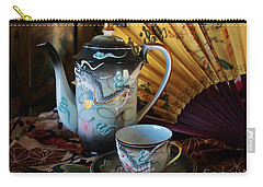 Tea And Calligraphy Carry-all Pouch