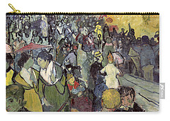 The Arena At Arles Carry-all Pouch by Vincent van Gogh