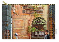 Thinking Of You Trattoria Sempione San Marco 578 Venezia Carry-all Pouch