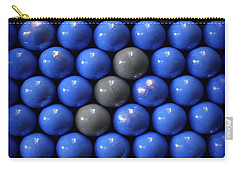 Three  Balls Line Carry-all Pouch by Danuta Bennett