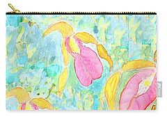 Three Pink Ladies  Carry-all Pouch