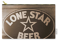 Vintage Sign Lone Star Beer Carry-all Pouch