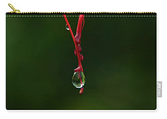 Waterdrop Carry-all Pouch by Michelle Meenawong