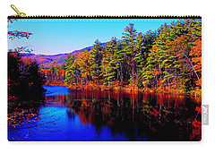 White Mountians National Park Red Eagle Pond New Hampshire Carry-all Pouch