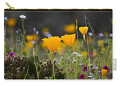 Wildflowers Explode Carry-all Pouch