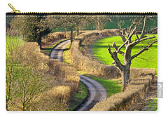 Winding Country Lane Carry-all Pouch by Tony Murtagh