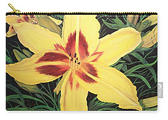 Yellow Lily Carry-all Pouch