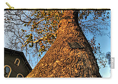001 Oldest Tree Believed To Be Here In The Q.c. Series Carry-all Pouch by Michael Frank Jr
