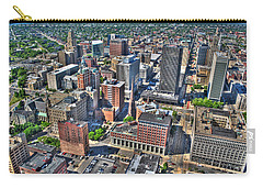 0017 Visual Highs Of The Queen City Carry-all Pouch by Michael Frank Jr