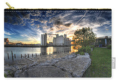 003 General Mills At Sunset Carry-all Pouch by Michael Frank Jr