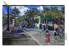 St Croix Stencil  Carry-all Pouch