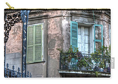 0254 French Quarter 10 - New Orleans Carry-all Pouch by Steve Sturgill