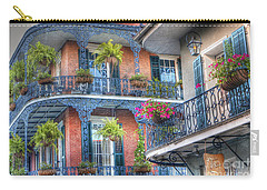 0255 Balconies - New Orleans Carry-all Pouch